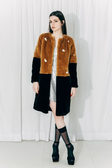 Bella Faux Fur Coat