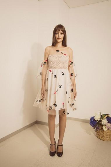 Melinda Dress Front
