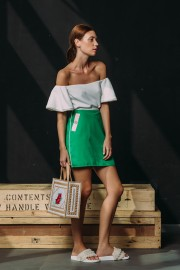 CFP_9195 SS170099 Gwenth Top White Max Skirt