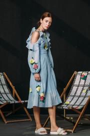 CFP_9490 Safia Dress Blue SS170123