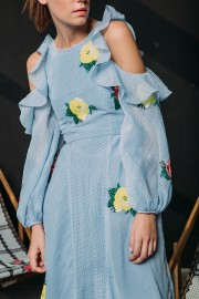 CFP_9498 Safia Dress Blue SS170123