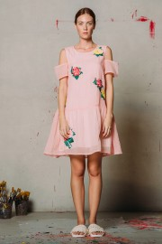 CFP_9907 Joney Dress Pink