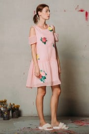 CFP_9909 Joney Dress Pink