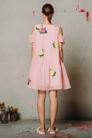 CFP_9914 Joney Dress Pink