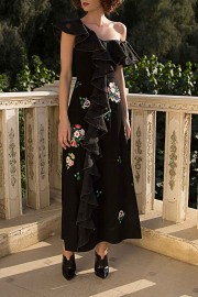 AW162510 sunshine black dress