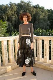 Tata Skirt May Crop Grey AW162894