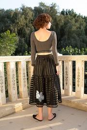 Tata Skirt May Crop Grey AW162906