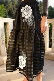 Tata Skirt May Crop Grey AW162908