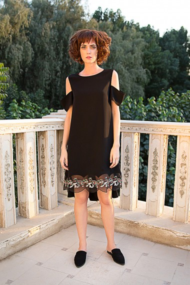 Cyn Black Dress AW163058