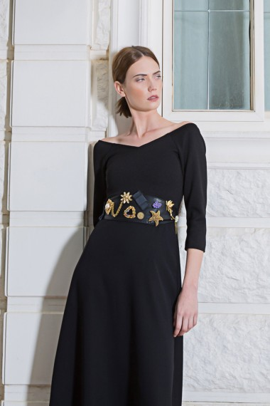 ss-2594 Beba Belt Dress
