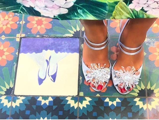 Prettiest feet in our @thegalleriaae mall store