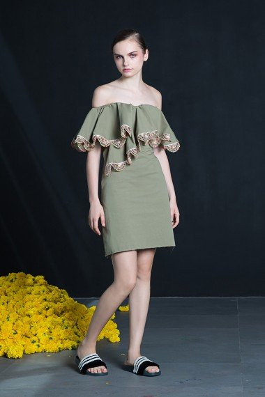 SS18-7848 Sunshine Short Dress SS18R006