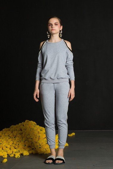 SS18-10542 Vena sweater and joggers SS18R071