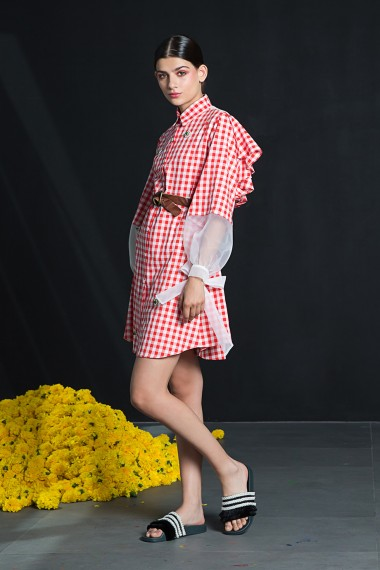 SS18-7802 Gloria Shirt Dress
