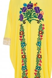 April-1612 copy dai kaftan yello SS18M076