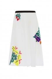 SEP-15541 SS18M017 ALEXA SKIRT EMBROIDERED