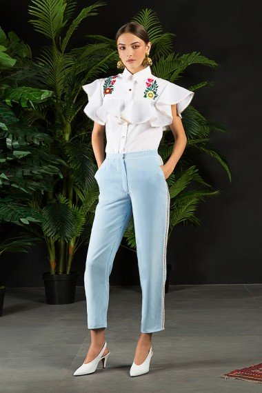 SS18-14079 Toby shirt SS18M006 marnie trousers